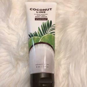 New! NWT Bath & Body Works Coconut Lime Body Cream